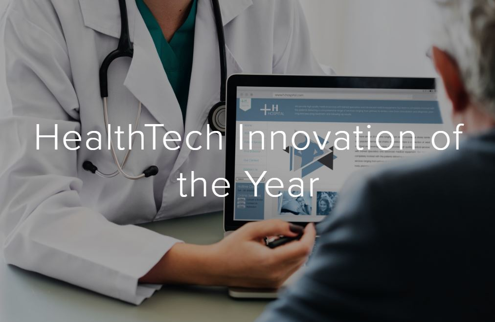 We are in the 10 innovators selected for the HealthTech Innovation of the Year